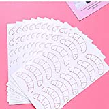 Lash Mapping Stickers 210 Pairs 3 Packs Under Eye Positioning Tips Sticker Pads for Individual Eyelash Extensions Isolation Self-Adhesive Paper Patches Professional Supplies Tools by EMEDA