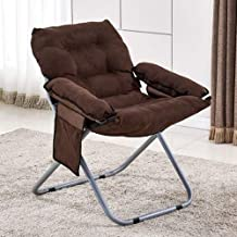 Dining Room Chairs Home Office Desk Chairs Guest Creative Lazy Folding Sofa Living Room Single Sofa Chair Tatami Lounge Ch...
