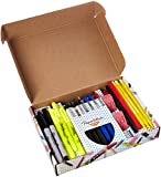 Sharpie, Paper Mate, Expo - Writing Essentials Kit: Sharpie Markers & Highlighters, Paper Mate Pens, EXPO Dry...