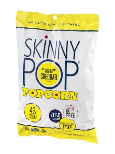 Great Features Of Skinny Pop Popcorn Ultra Lite White Cheddar (Pack of 12) - Pack Of 12