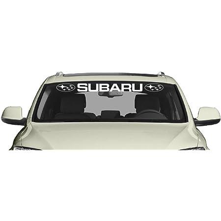 Sti Subaru Hochwertigen Auto Autoaufkleber 15 X 8 Cm Küche Haushalt