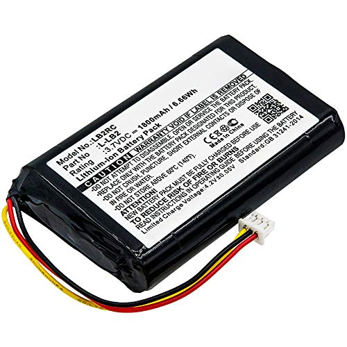 subtel® Qualitäts Akku kompatibel mit Logitech MX1000 (M-RAG97), L-LB2 1800mAh Ersatzakku Batterie