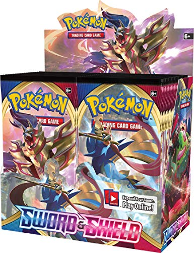 Pokemon POK816512 TCG: Sword and Shield Booster Displ