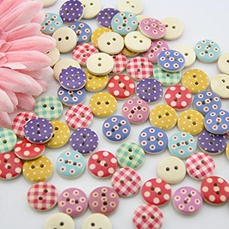 Leekayer 50pcs 10mm Resin Pearl Buttons for Sewing Shirt Skirt Dress Bag Hat Sweater Crafts Bulk Pearl Button with Hole