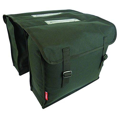Cameo 1X Fahrradtasche Double Bag, Schwarz, 30 L