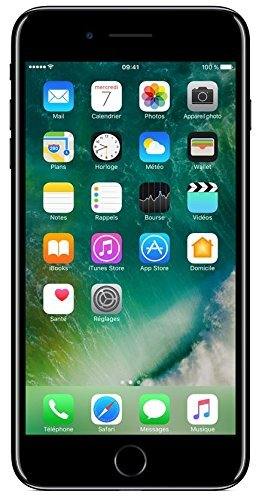 Apple iPhone 7 Plus 128GB - Pech Schwarz - Entriegelte (Generalüberholt)