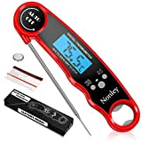 Best Food Thermometers - Nonley Instant Read Meat Thermometer - Best Waterproof Review