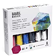 Liquitex BASICS Acrylic Paint Technique Set - Wet on Wet