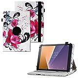 UC-Express Tablet Schutzhülle kompatibel für Vodafone Tab Prime 6 Hülle Tasche Universal Cover Hülle aus Kunstleder Standfunktion 360° Drehbar, Farben:Motiv 7