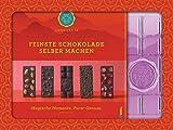 Feinste Schokolade selber machen: Magische Momente. Purer Genuss. Mit einer Form zum Gießen von...