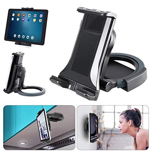 Supporto Tablet Stand Muro da Cucina, Padwa Life supporto da tavolo regolabile 2 in 1 e rotazione di 360 gradi per 4,7  a 11  tablet   telefono, adatto per letto   cucina   ufficio   tavolo