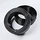 Acuteye 50 FT Pneumatic Air line 1/4' Od 15 Meters Air Brake Tubing Nylon Air Hose for Air Brake System Or Fluid Transfer