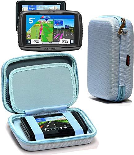 Navitech Étui De Protection Robuste en EVA Dur Bleu Compatible avec Tomtom Go Professional 6200 | 6250