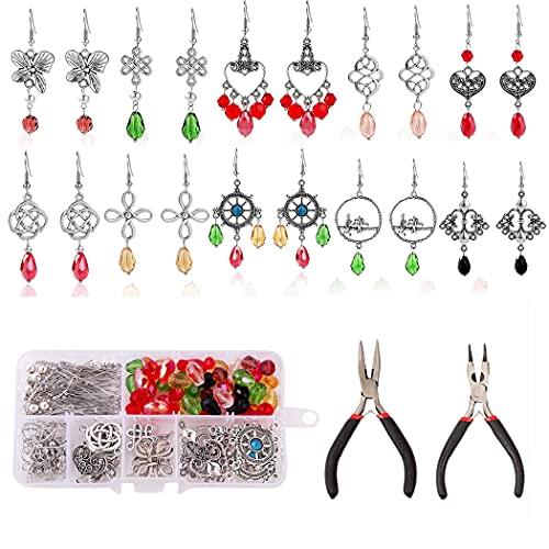 Anjetan Kit De Fabricación De Aretes DIY Decorativo Universal Moda Componentes De...