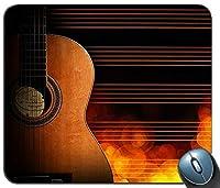 ギターマウスパッド滑り止めデスクトップマウスパッドゲーミングマウスパッド