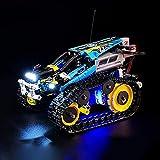 FYHCY Kit de iluminación LED para Lego Technic Stunt Racer con Control Remoto, Juego de Luces Compatible con Lego 42095 (Modelo Lego no Incluido)