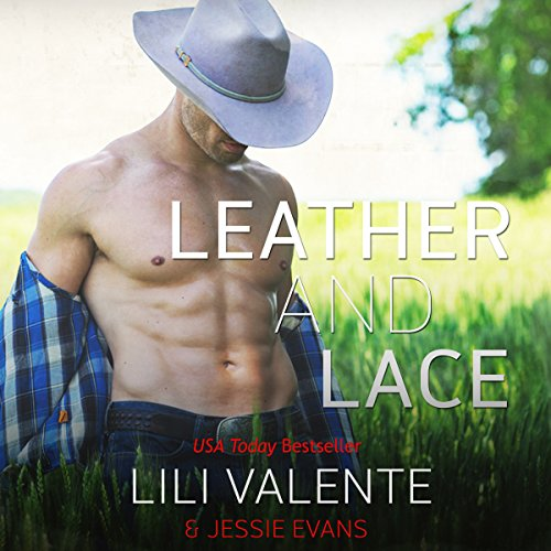 Leather and Lace audiobook cover art