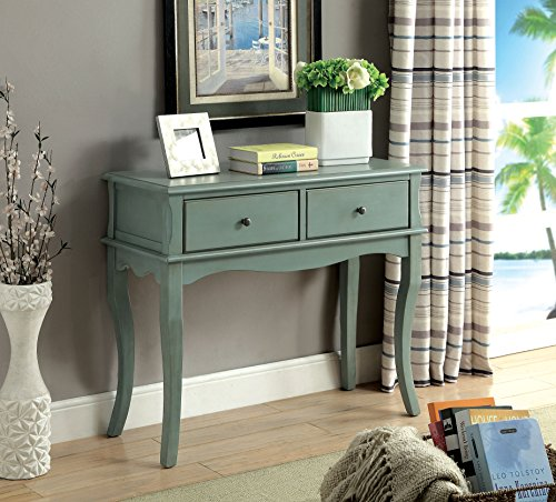 HOMES: Inside + Out Opis Hallway Cabinet Antique Teal