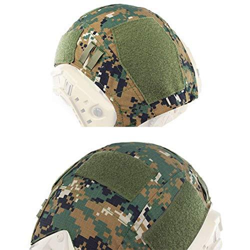 WorldShopping4U tactique Airsoft casque de chasse de style militaire Coque arrière Pochette, AOR2