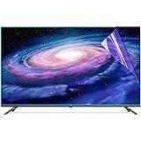 TV Pantalla Protector Material de Mascotas Filtro de Pantalla de 32-65 Pulgadas Anti-reflexión/Filtro de luz Anti-Azul, Relieve Fatiga Ocular, para LCD, LED, OLED & QLED 4K HDTV,50' 1095 * 616mm
