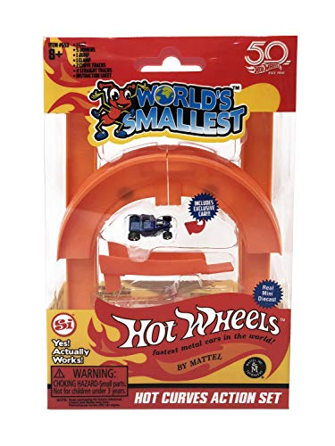 Worlds Smallest Hot Wheels - Miniature Version of the Classic Toys - Fully...