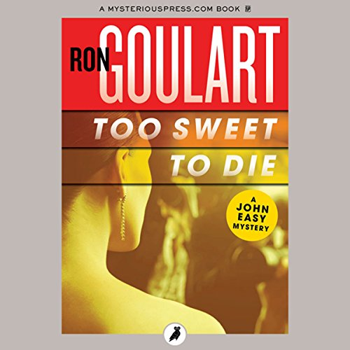 Too Sweet to Die audiobook cover art