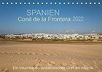 Conil de la Frontera - Ein traumhaftes andalusisches Dorf am Atlantik (Tischkalender 2022 DIN A5 quer): Einblicke in ein bezauberndes Dorf im Herzen von Andalusien (Monatskalender, 14 Seiten )