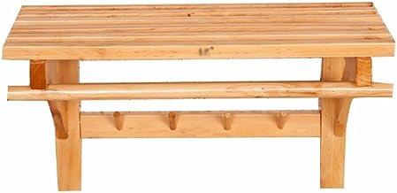 MBYW moderne minimalistische hoge dragende handdoek rek badkamer handdoekenrek Cypress hout handdoek rek badkamer toilet h...