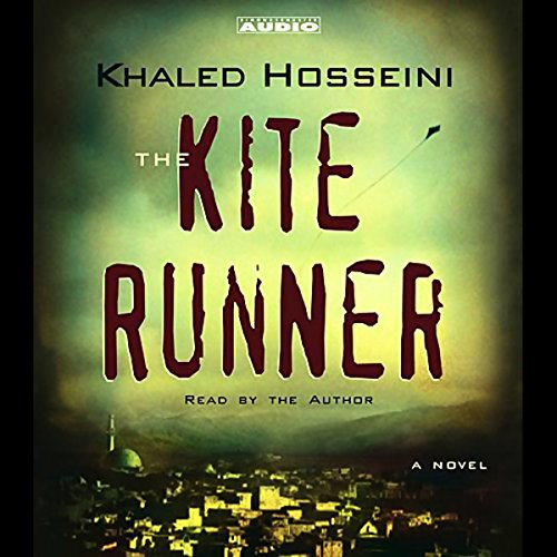 The Kite Runner audiobook cover art