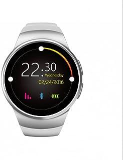 niuniuche Relojes Deportivo Smart Bracelet Relojes Intelligent Tarjeta SIM/Control Remoto de Cámara/Contador de calorías/Deporte Monitor De Sueño/Sedentario Recordatorio/Anti Perdidos/Pulsómetro