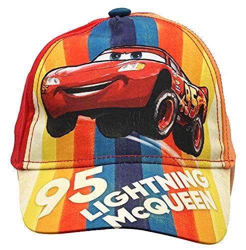 HOVUK - Gorra de algodón para coches, 2 diseños, gorra de béisbol, gorro, accesorios para niños, diseño de personajes de Disney