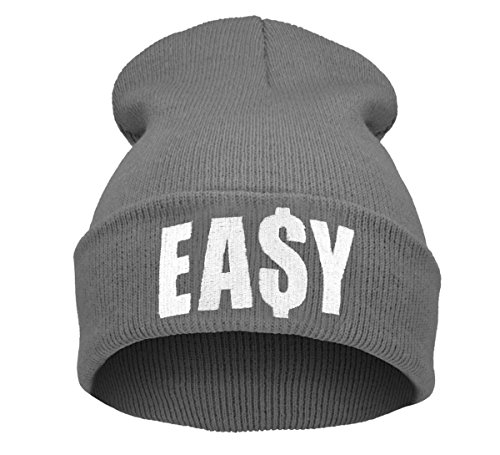 Morefaz Beanie hat Bonnet Fashion Jersay Oversize Bad Hair Day Bastard Diamond EASY