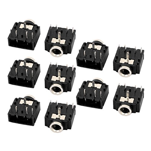 Aexit 10 Stücke 3,5mm Weibliche Stereo Audio Buchse Handy Kopfhörer Jack Connector 5 Pin Leiterplattenmontage (ac93f53ff00b1e2f4a62f625c91c4ca5)