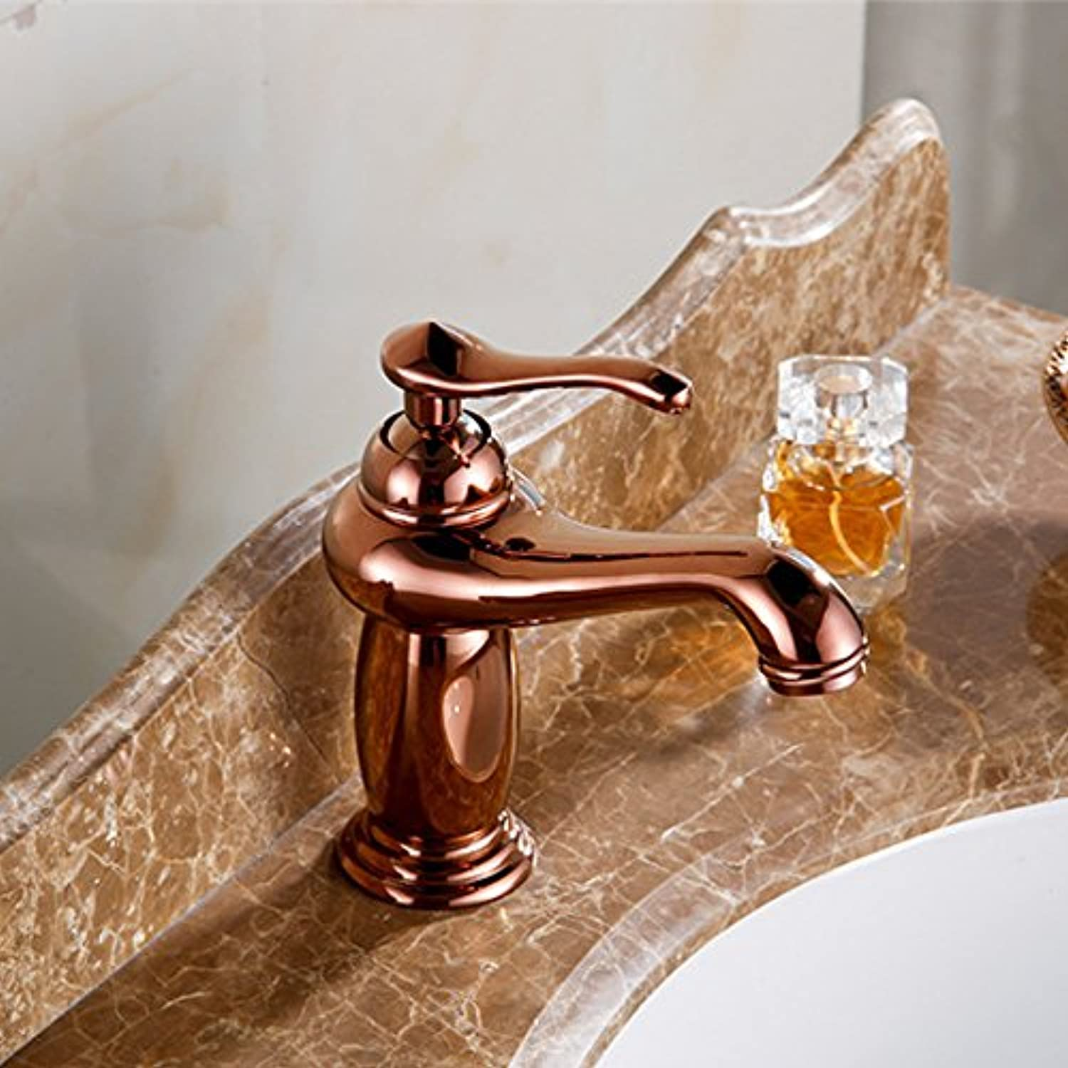 Retro Deluxe FaucetingFree Shipping Contemporary golden Basin Sink Faucet With Solid Brass Bathroom Basin Sink Water Tap By Hot Cold Bathroom Tap