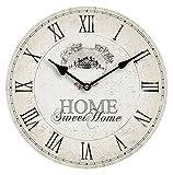 <span class='highlight'>Premier</span> Housewares MDF <span class='highlight'>Home</span> Sweet <span class='highlight'>Home</span> Wall Clock