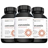 Smarter Nutrition Curcumin - Potency and Absorption in a SoftGel - The Most Active Form of Curcuminoid - 95% Tetra-Hydro Curcuminoids (90 Servings)