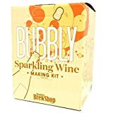 Brooklyn Brew Shop Sparkling Wine Making Kit: Bubbly Starter Set With Reusable Glass Ferme...