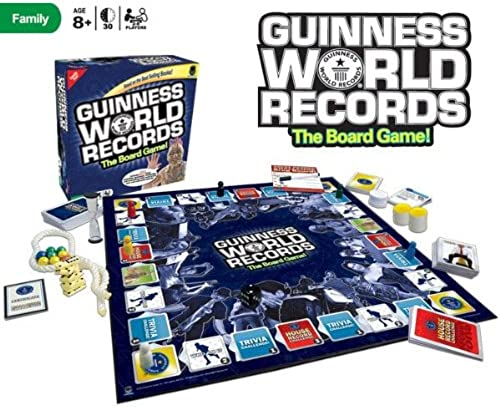 ventas en linea Guinness Guinness Guinness World Records The Board Game  perfecto