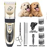 Best Cat Trimmers - Maxshop Low Noise Rechargeable Cordless Pet Dogs Review