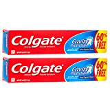 Colgate Cavity Protection Toothpaste with Fluoride, 4 ounce (2 Pack)
