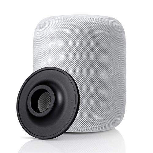 Standfuß für Apple HomePod Lautsprecher, LUXACURY HomePod Base Halter Standfuß rutschfeste Unterlage Edelstahl Schutzfuß für Apple Homepod Intelligente Lautsprecher