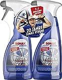 SONAX 2x XTREME Felgenreiniger PLUS (500 ml)...