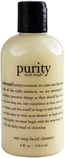 Philosophy Purity Made Simple One Step Facial Cleanser Cleanser For Unisex 8 oz