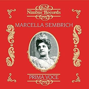 Marcella Sembrich (Recorded 1906 - 1912)