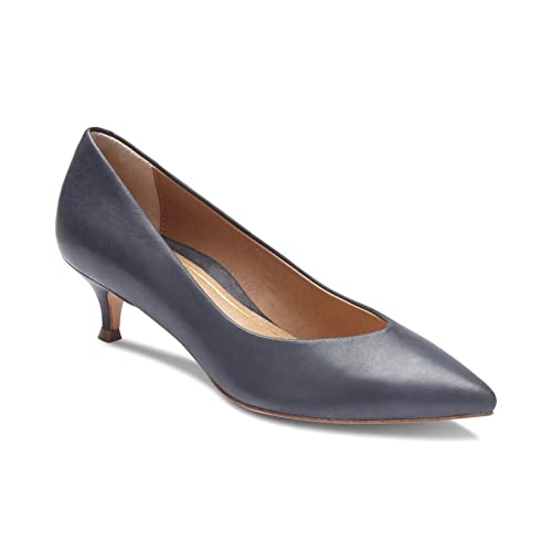 0f5e0e0c86ea Vionic Women s Kit Josie Kitten Heel - Ladies Heels with Concealed Orthotic  Support