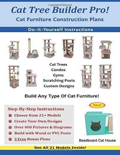 Cat Tree Builder Pro: Cat Furniture Construction Plans