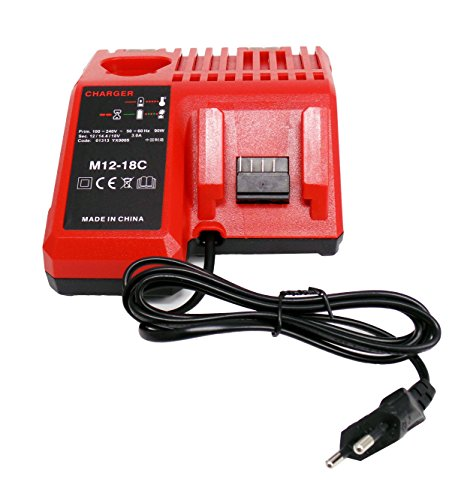Ersetzen Ladegeräte für Milwaukee M18 M12 18V 220V Li-ion tool Battery 48-59-1812 48-59-1807 48-59-1806 48-59-1840 2710-20