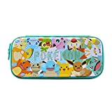 Compatible with Nintendo Switch & Nintendo Switch Lite Lightweight yet sturdy hard shell with Glossy Full-Color Printing Pokemon-themed artwork & colors inside and out Holds up to 10 game cards Officially Licensed by Nintendo and the Pokemon company ...
