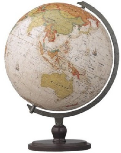 The Yanoman 3D Sphere Puzzle 540 Piece Antique Globe (Japanese) (Diameter of About 22.9cm) (Japan Import)
