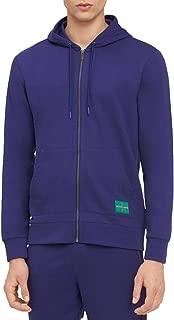 Calvin Klein Mens Zip-Up Long Sleeve Hoodie
